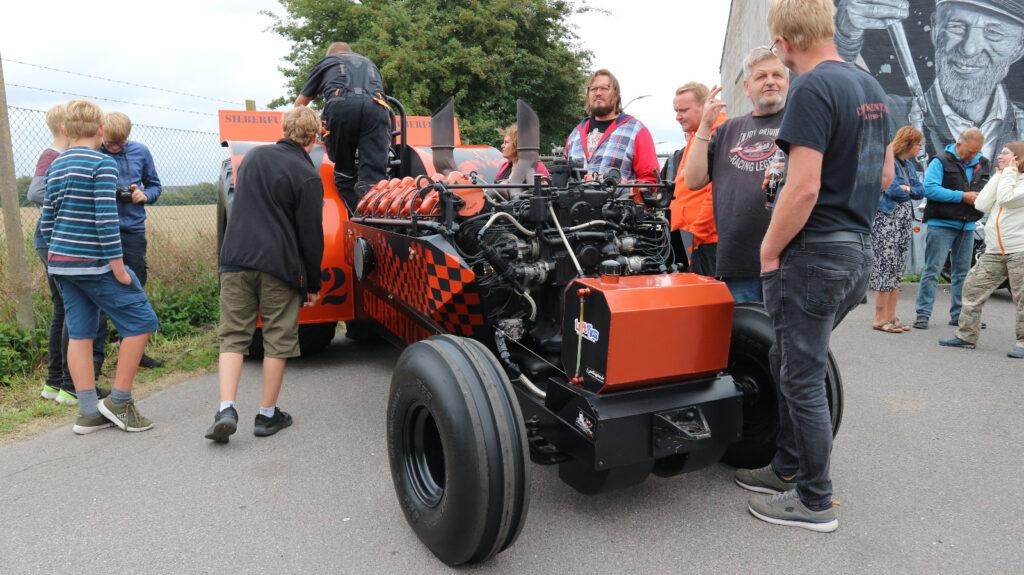 Silberfuchs Traktorpulling auf dem Gelände der Alte Spritfabrik